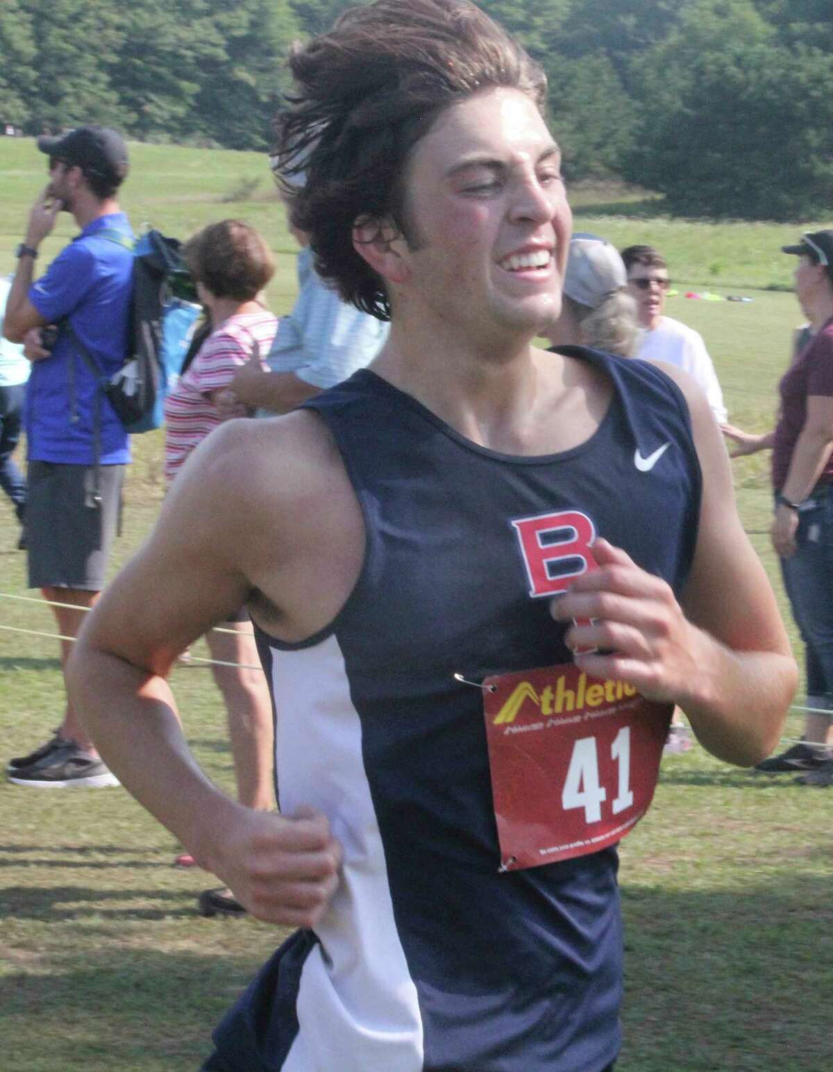 Big Rapids' Ryan Ososki was second in the boys division of the CSAA Gold Division race on Tuesday. (Pioneer file photo)