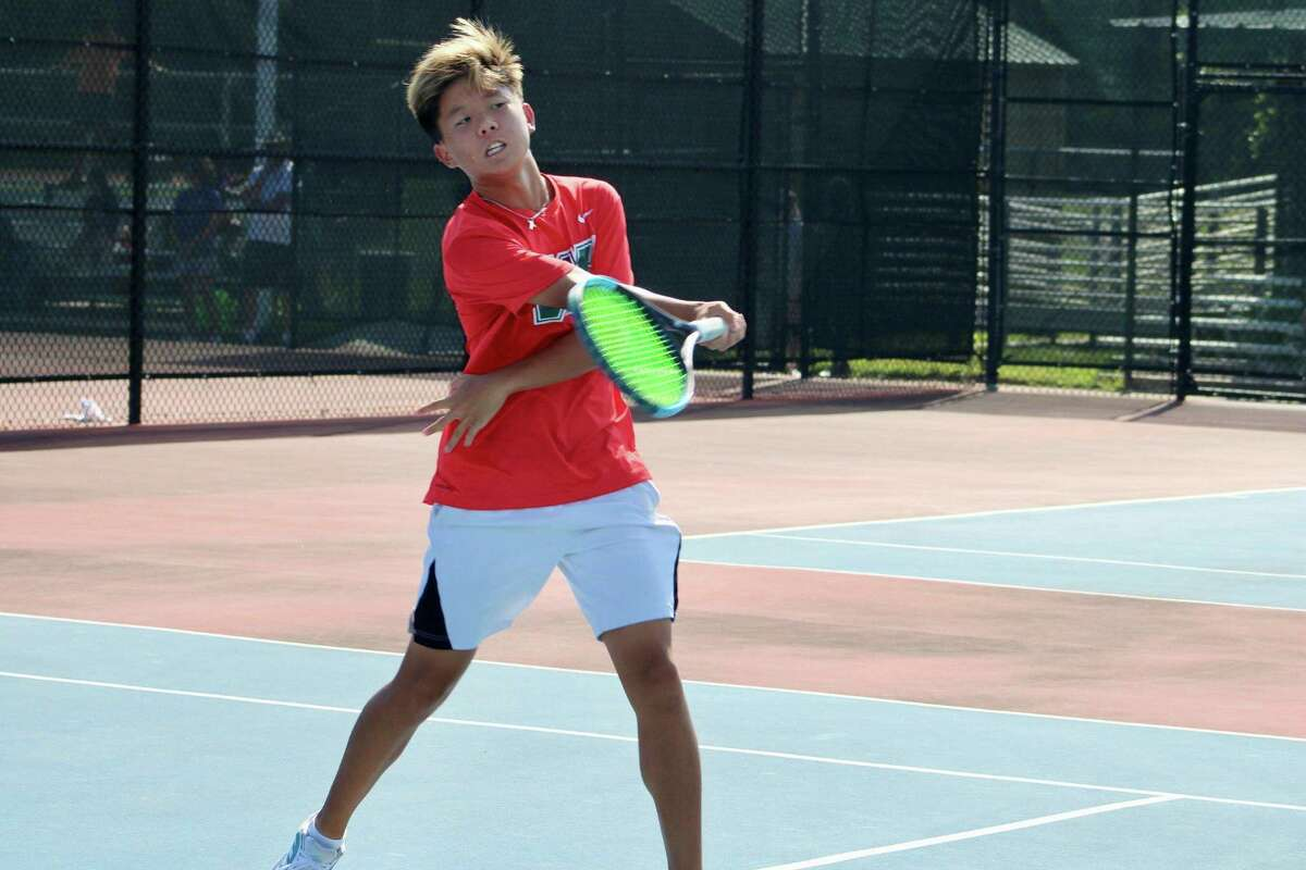 The Woodlands tennis player Eli Sam.