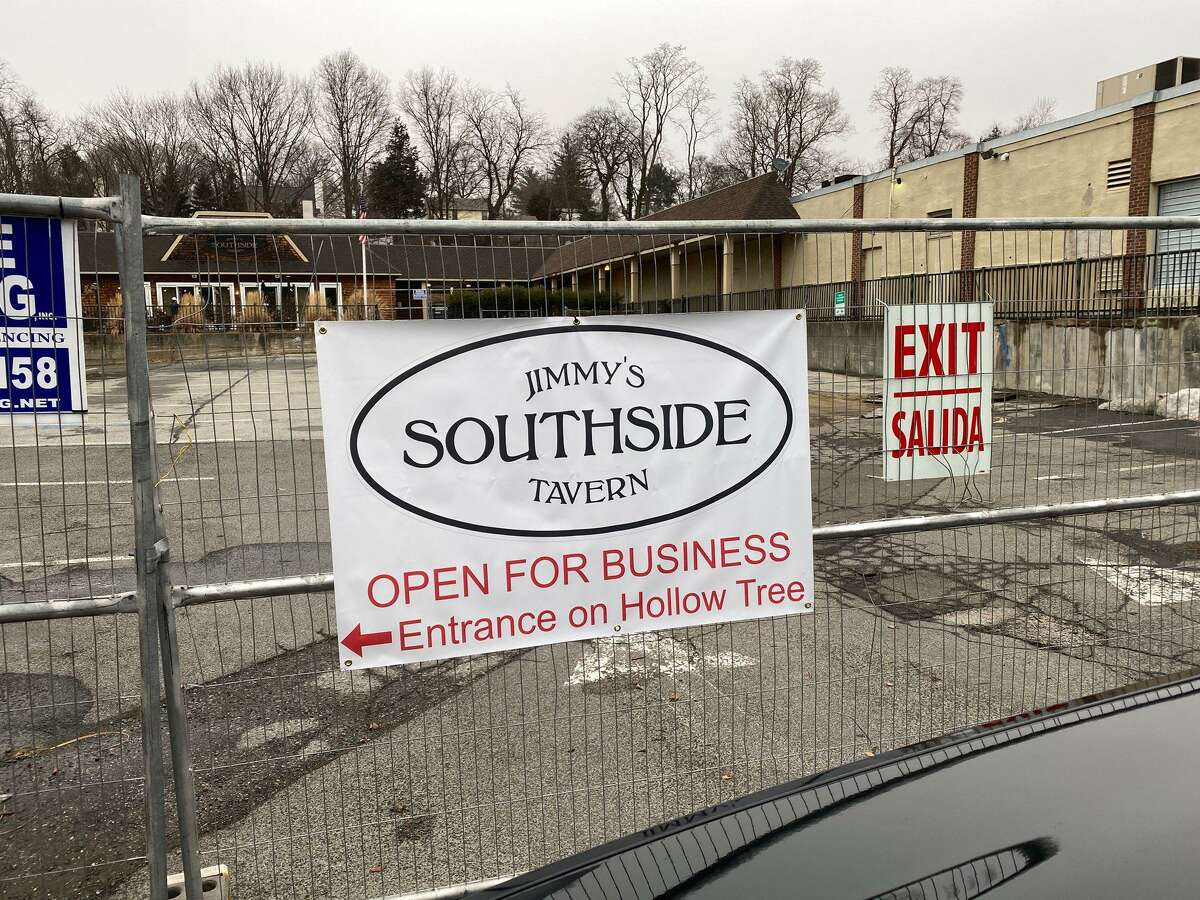 Jimmy's Southside Tavern in Darien, which closed Monday, March 16, 2020.