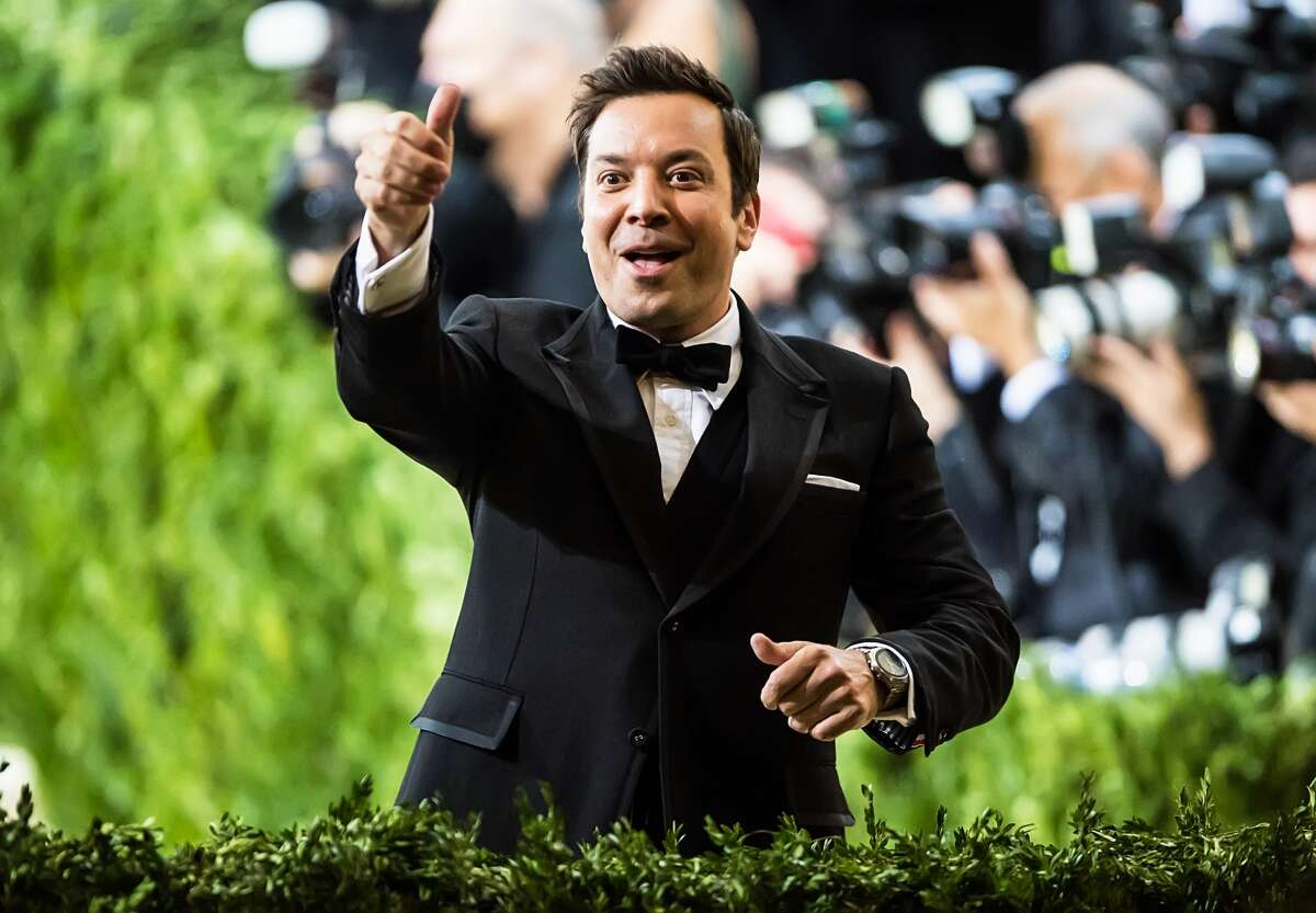 NEW YORK, NEW YORK - SEPTEMBER 13: Comedian and TV host Jimmy Fallon attends The 2021 Met Gala Celebrating In America: A Lexicon Of Fashion at The Metropolitan Museum of Art on September 13, 2021 in New York City. (Photo by Gilbert Carrasquillo/GC Images)