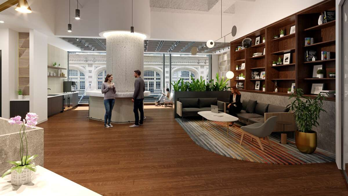The Square will provide a flexible office option at new downtown Texas Tower.