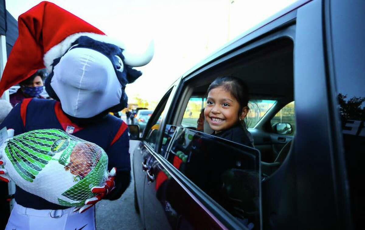 The Texans Foundation's community impact totaled more than $13 million last year.