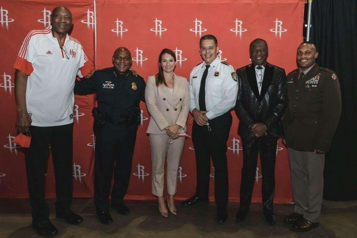 """Clutch City Foundation, the umbrella organization for all Houston Rockets community efforts, worked with area school districts to deliver educational programming through virtual platforms. Clutch City Foundation has been working with the Red Cross to identify the hardest-hit communities in Louisiana. Clutch City Foundation typically hosts an annual blood drive. To meet dwindling supply and heightened demand, leadership approved three blood drives in 2020 and another two this year.They also partnered with Second Servings of Houston, the city's sole prepared and perishable food rescue organization, to host Taco Tuesday events which served thousands of front-line workers each week. """"Every year for Sept. 11 we do a staff service day and visit all 16 police stations and 94 fire stations. This year, for the 20th anniversary, we hosted a luncheon for military, police and fire here in addition that. All of these people have given so much.. it was a really special event and opportunity for us to show gratitude,"""" Sarah Jospeh said."""