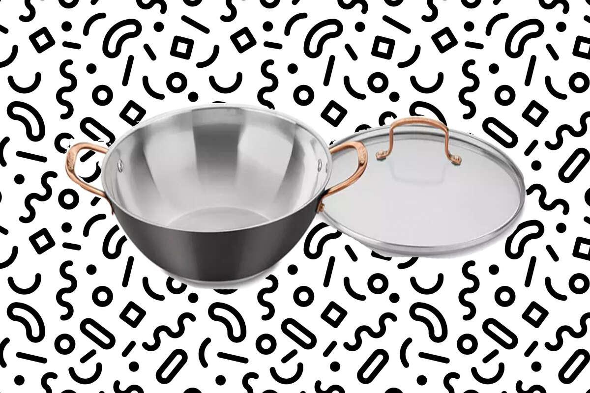 Cuisinart Onyx Black & Rose Gold All-Purpose Pan & Lid, $24.99 at Macy's
