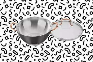 Cuisinart Onyx Black & Rose Gold All-Purpose Pan & Lid , $24.99 at Macy's