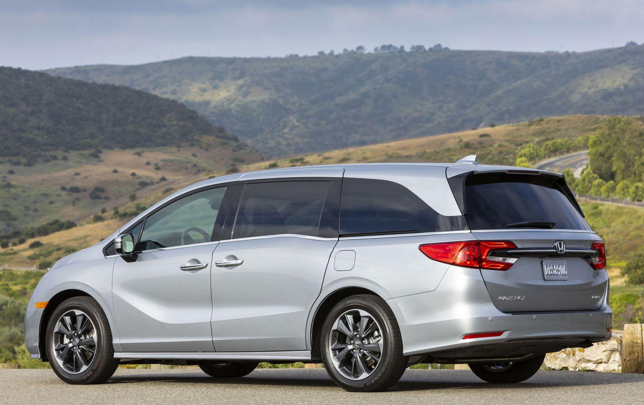 La minivan Honda Odyssey regresa para 2022 después de las actualizaciones del año pasado