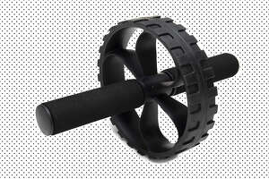 Mind Reader Abdominal Roller Wheel with Foam Grips,  $12.99 at Amazon