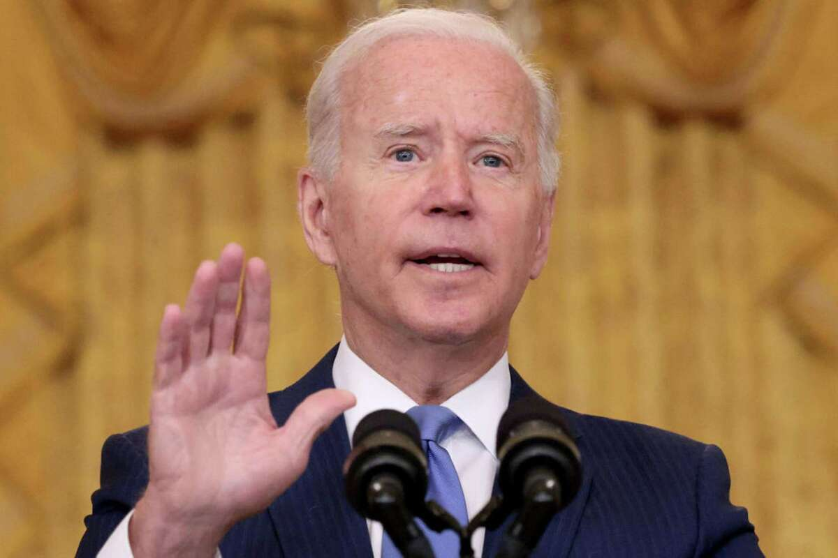 U.S President Joe Biden speaks during an event in the East Room of the White House September 16, 2021 in Washington, DC. (Win McNamee/Getty Images/TNS)