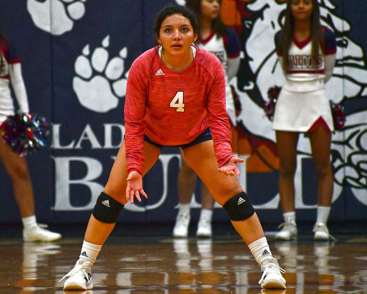 Haley Alderete has grown more confident as the libero for the Plainview volleyball team.