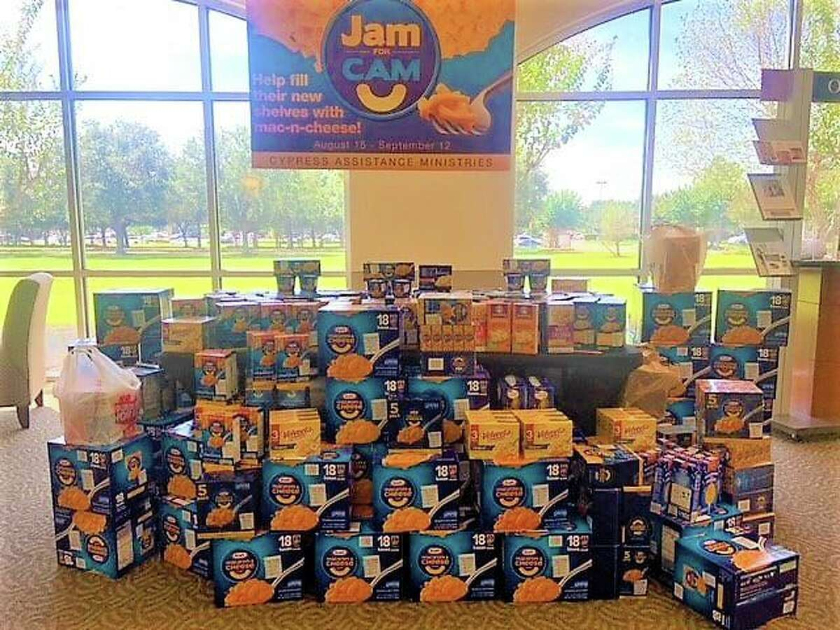 Jam for CAM provided the nonprofit with food for their new food pantry in their new main building.