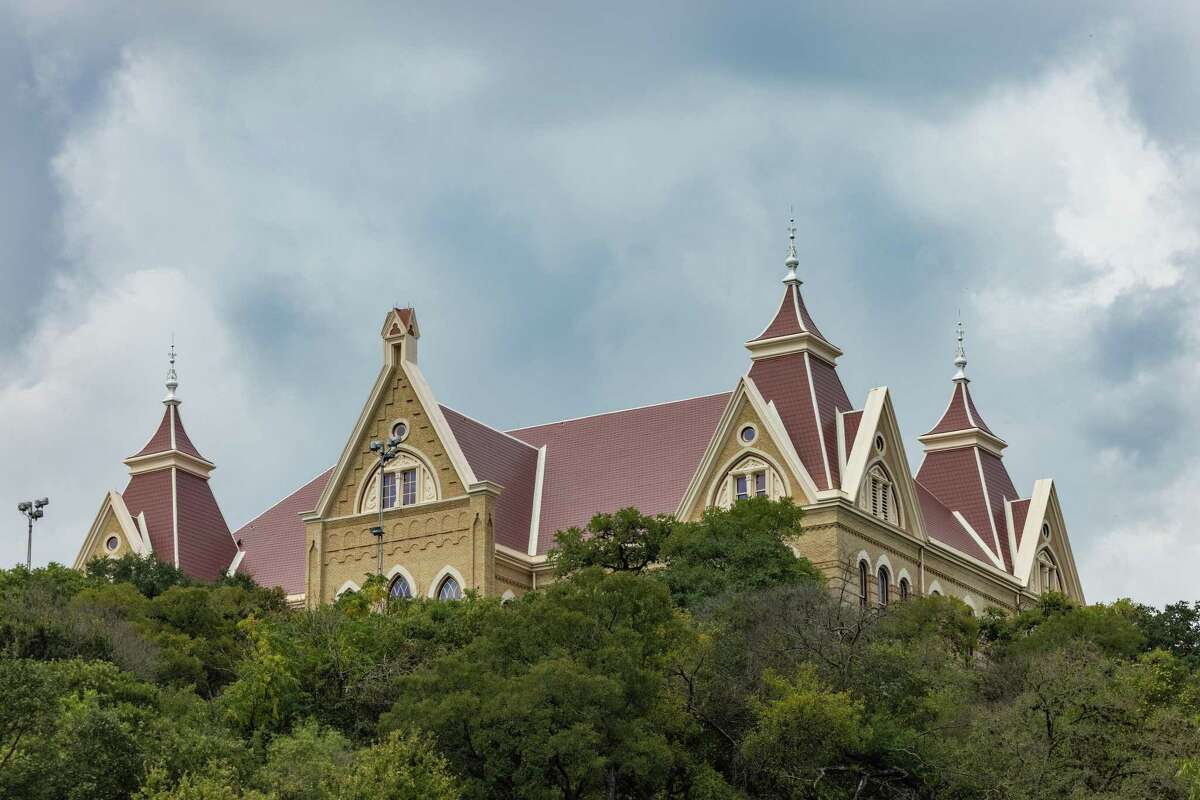Old Main, built in 1903, was the first building at Texas State University's campus in San Marcos.