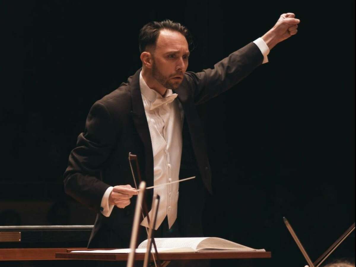 """The Conroe Symphony Orchestra, under the direction of guest conductor, Myles Nardinger, from the Moores School of Music, presents """"Dancing to a Different Tune"""" to open the symphony's new season."""