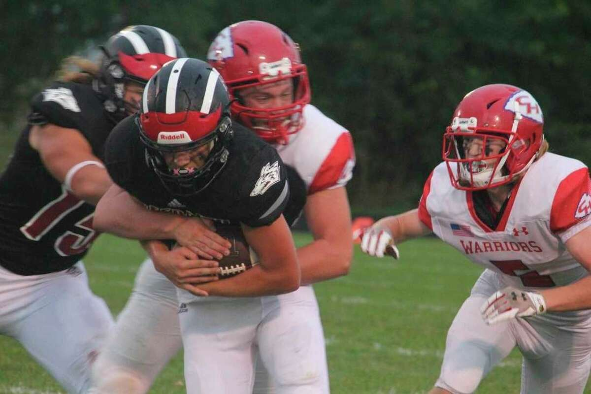 Reed City will travel to face Big Rapids at Cardinal Stadium on Friday night. (Pioneer file photo)