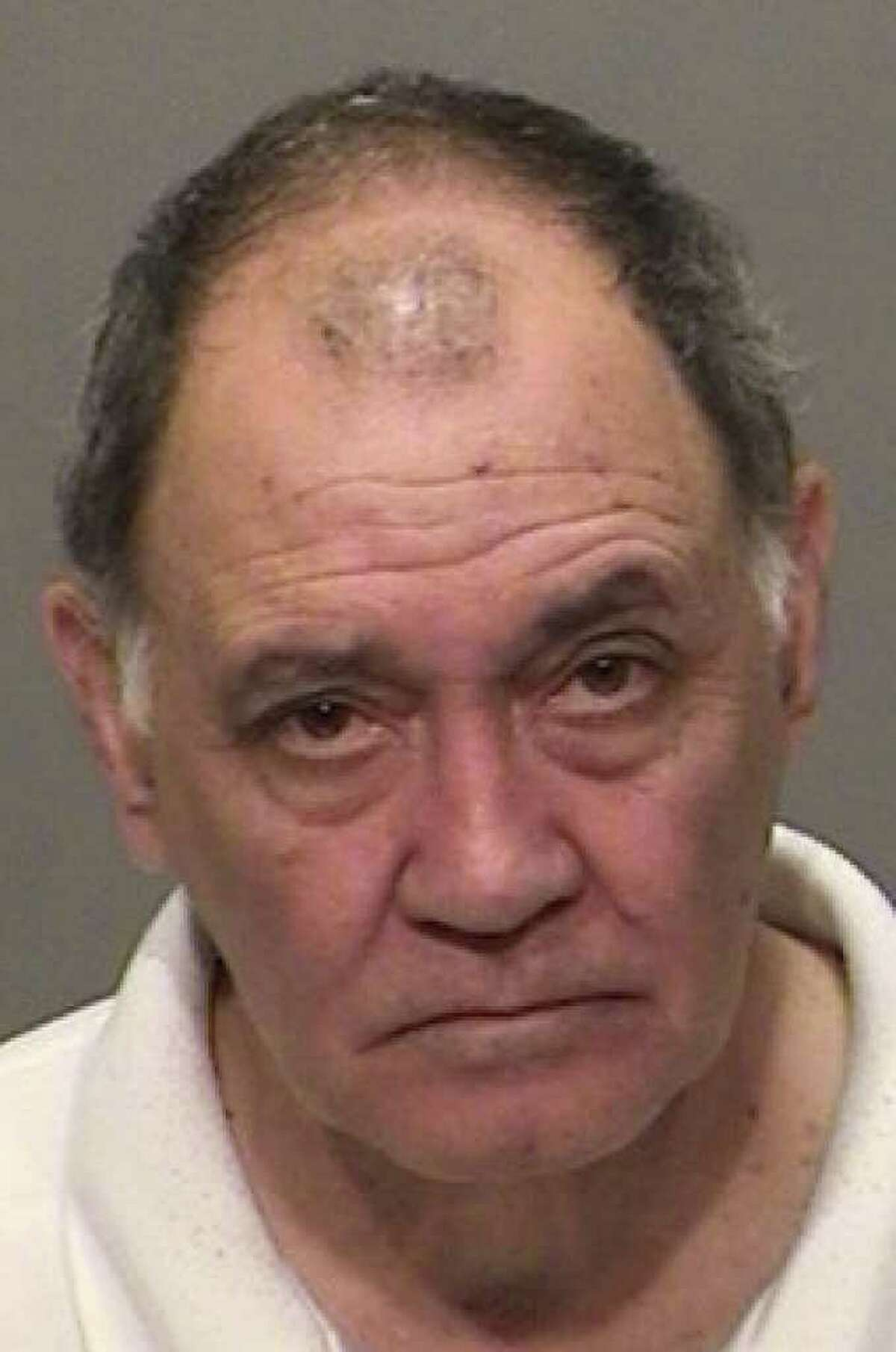 Joseph Antonelli, 64, of Stamford, has been charged by Greenwich police with three counts of disorderly conduct for allegedly making threats against President Barack Obama, who stopped in Stamford and Greenwich on Thursday. Photo provided by Greenwich police.