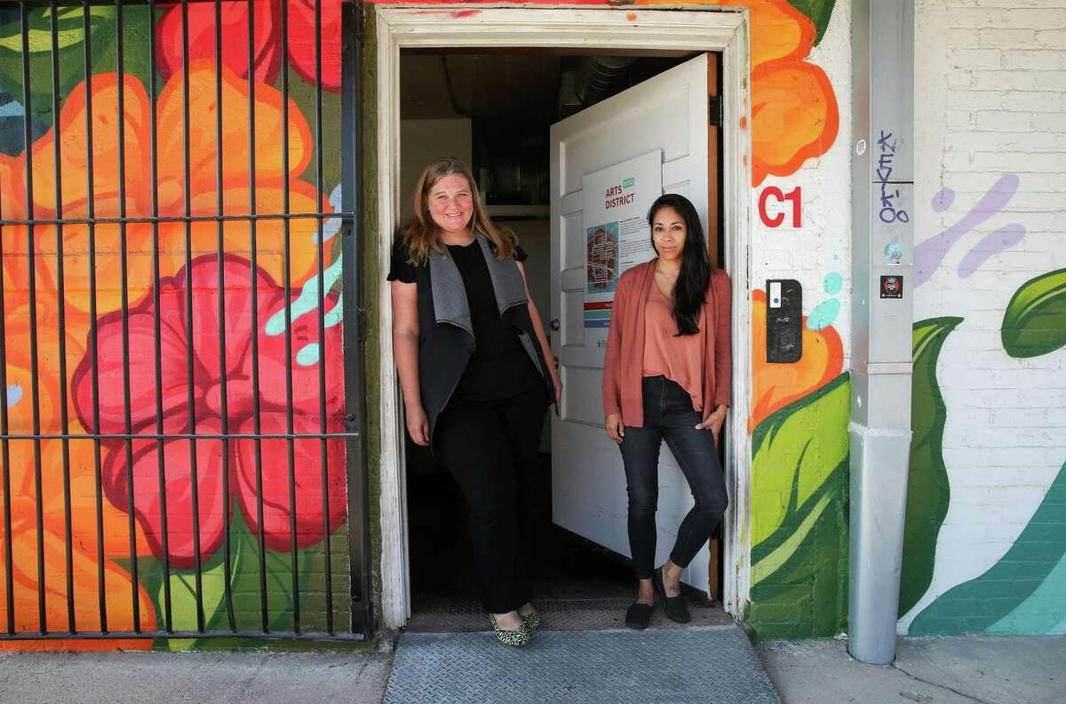 Marci Dallas, left, executive director, and Angela Carranza, managing director, say Fresh Arts' flexibility has allowed it to weather the pandemic, both an economic and health disruptor.