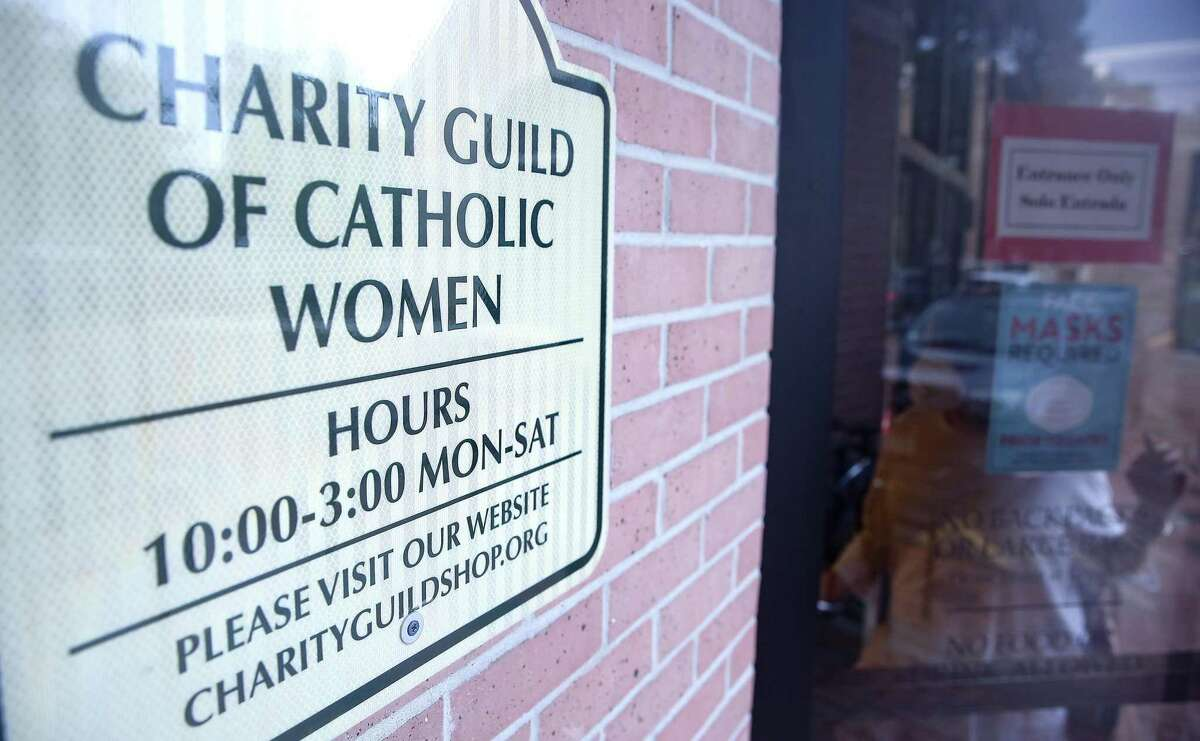 The Charity Guild of Catholic Women Thrift Shop in Houston on Wednesday, Sept. 1, 2021. The organization is celebrating 100 years in October.