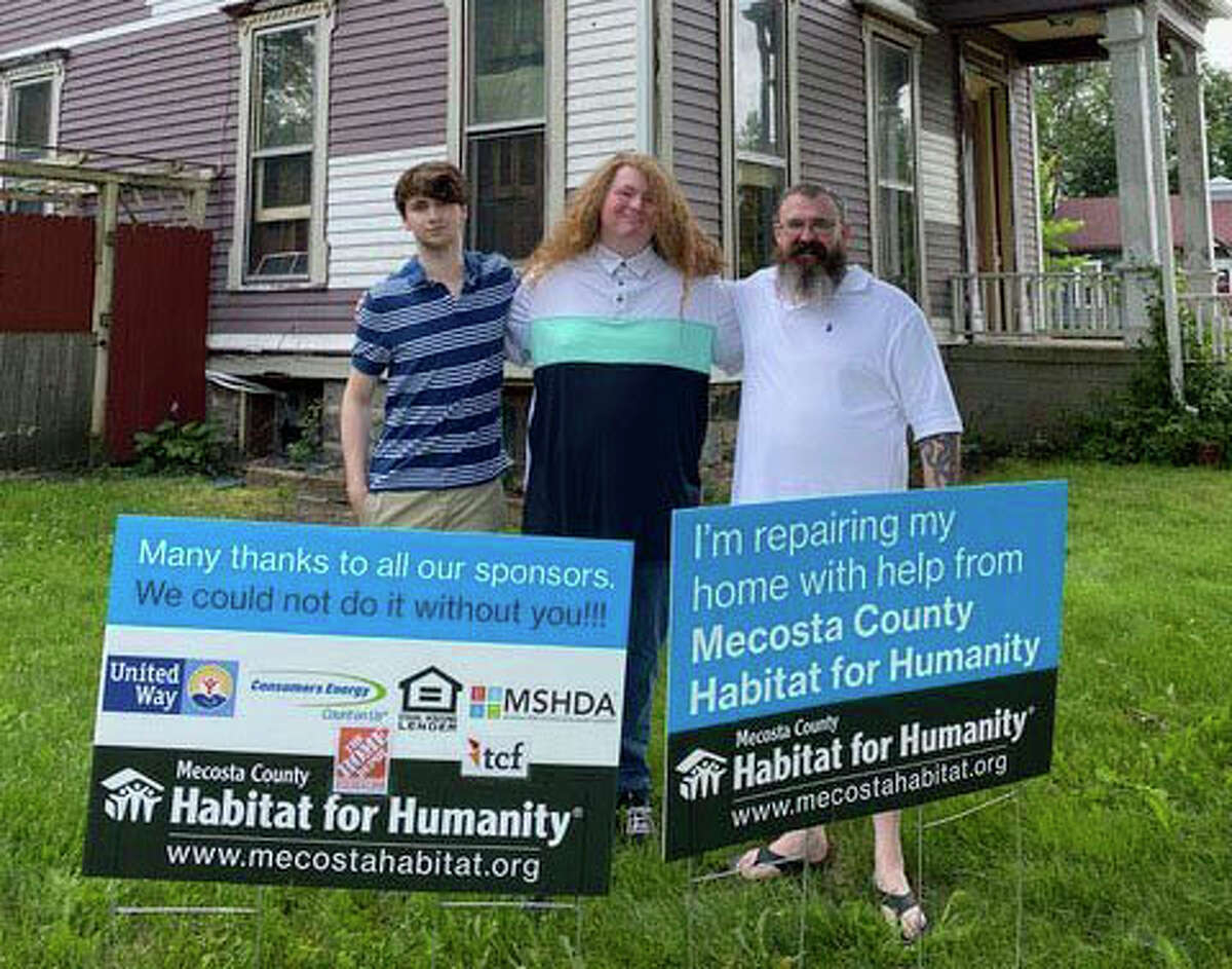 A Big Rapids veteran received a critical home repair from the Mecosta County Habitat for Humanity.