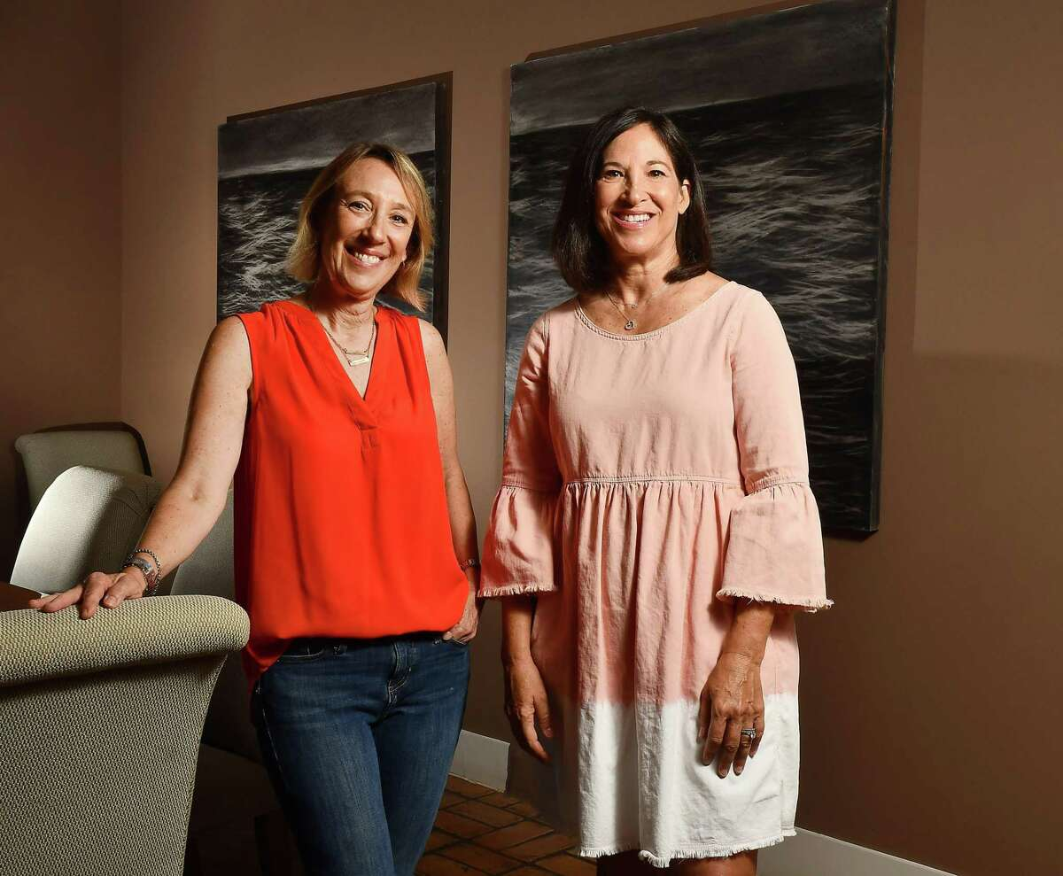 Lisa Sheinbaum, left, and Catherine Wile founded a nonprofit, Art for All Homes, to get unwanted and abandoned art to people in need.