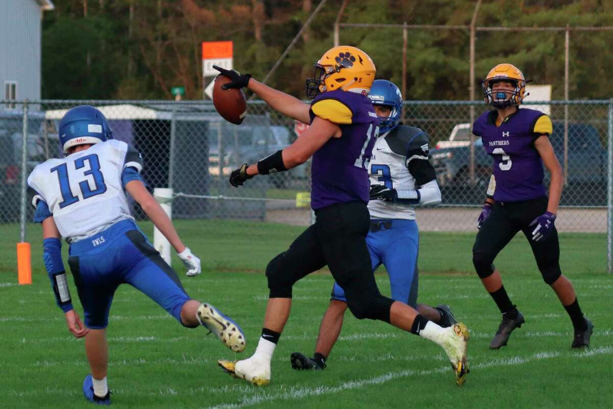 Frankfort senior Adam Mills has rushed for over 100 yards in each of the Panthers' three victories this season. (File photo)