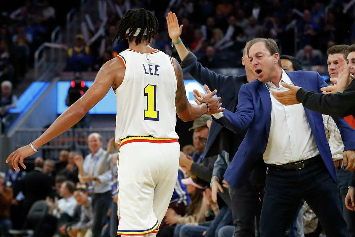Warriors owner Joe Lacob was fined $50,000 on Wednesday for comments about Philadelphia superstar Ben Simmons that were deemed by the NBA to be a violation of the league's anti-tampering rule.
