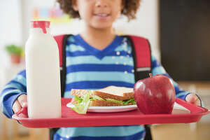 Shortages in the some school districts have meant trips to the local grocery store to have food for lunches.