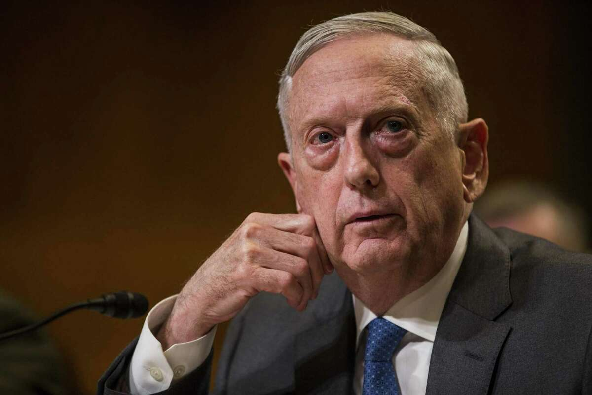 James Mattis, seen in 2018, said he invested $85,000 in Theranos, where he was a board member.