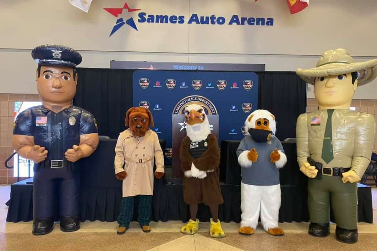 The Laredo Police Department invites the community to National Night Out. The event is scheduled for Oct. 5 from 6-9 p.m at the Sames Auto Arena.