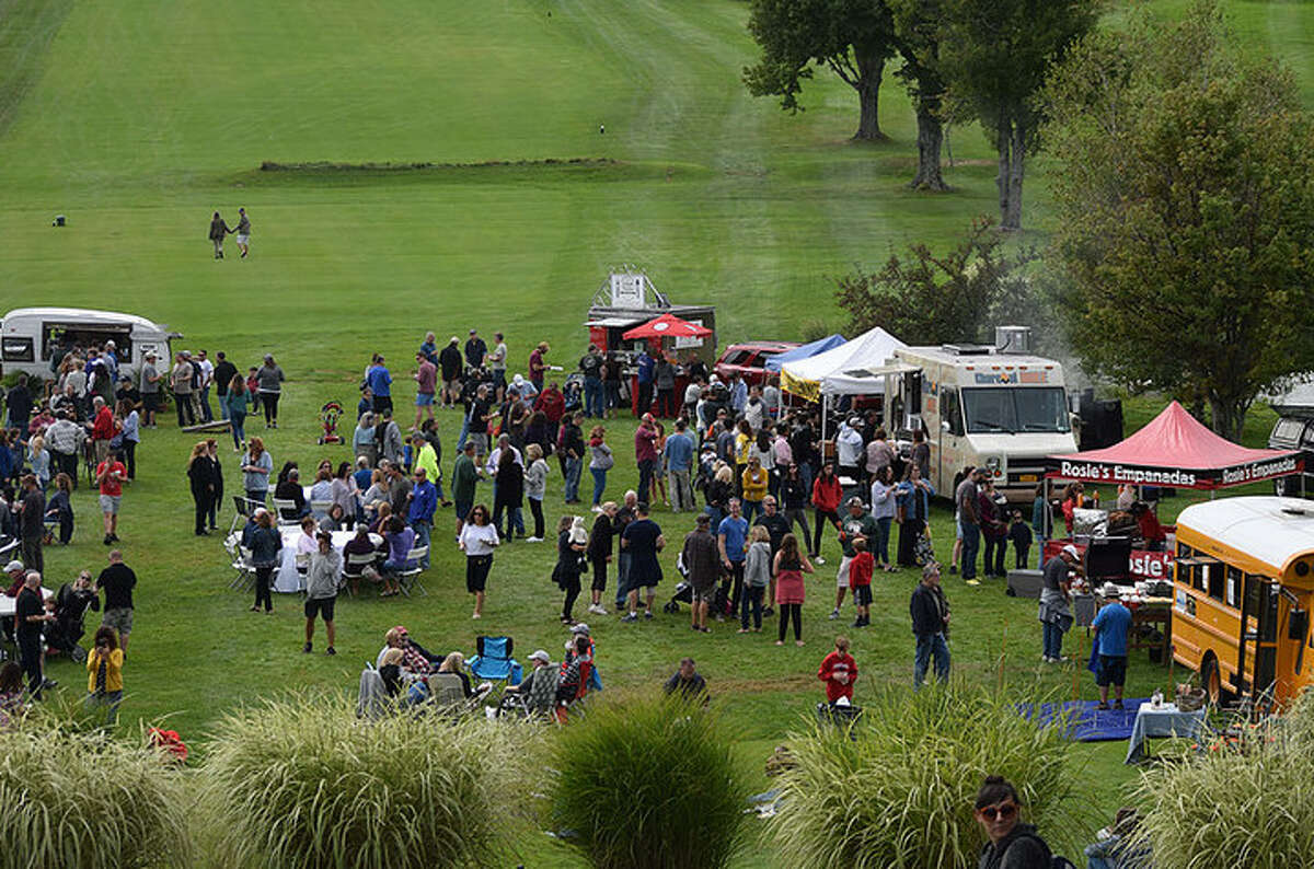 What's for lunch? Fall food festival season in the Hudson Valley. The Food Truck Festival, pictured, is just one of many to choose from.