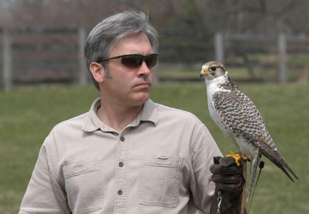 "The Darien Community Association, DCA, is having a ""Skyhunters in Flight: Birds of Prey Demonstration,"" program with Falconer Brian Bradley, from 2 until 3 p.m., Oct. 3."