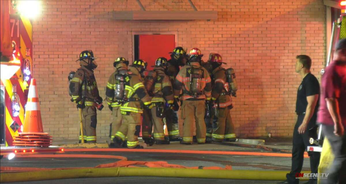A fire severely damaged the American Legion South Houston Post 490's interior Wednesday night, according to a fire official.
