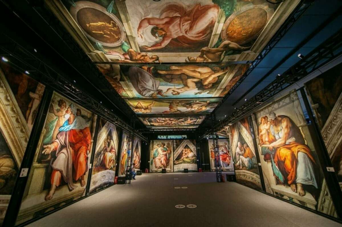 Michelangelo's Sistine Chapel: The Exhibition, Tickets starting at $19.20