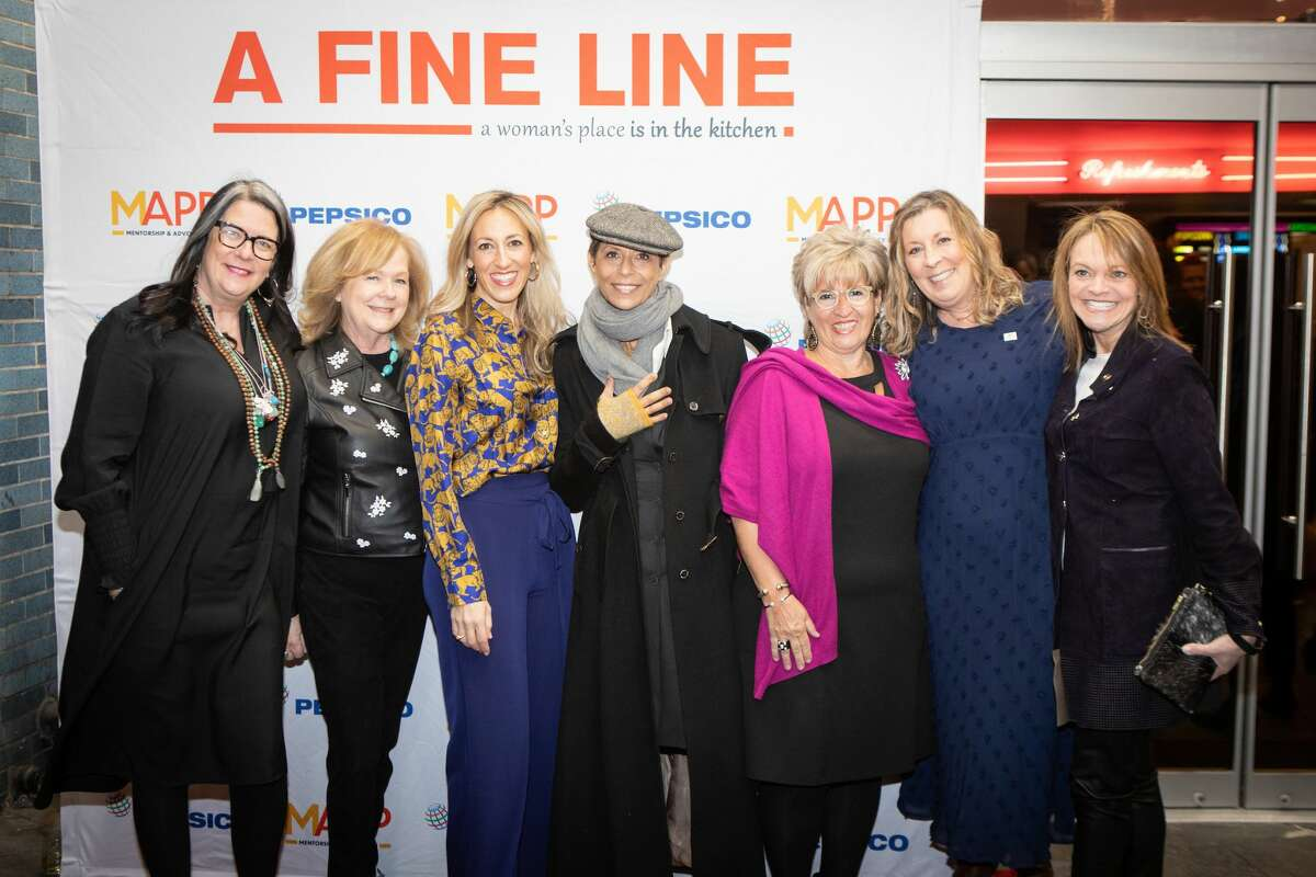 The New York Premiere of the film A Fine Line by Joanna James at Cinema Village in Greenwich Village. The film will kick off this year's Ridgefield Independent Film Festival with a reception provided by local female chefs.