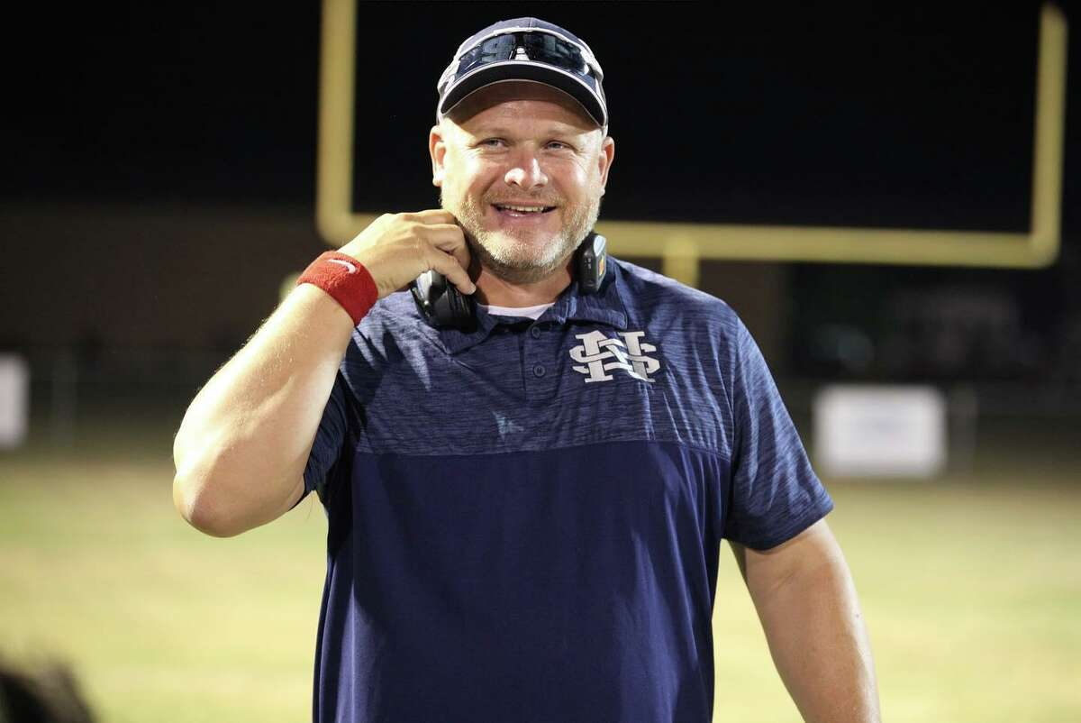 Northside Lions head coach Mike Helmer.