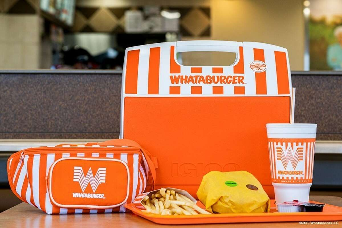 Whataburger's new merch is already available on Igloo's website. Even the fanny pack.