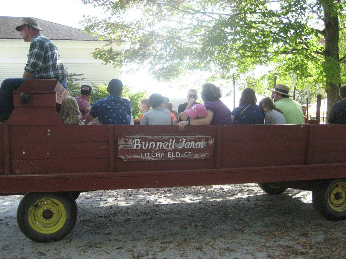 The White Memorial Conservation Center's Family Nature Day, set for Sept. 25, will include wagon rides around the property.