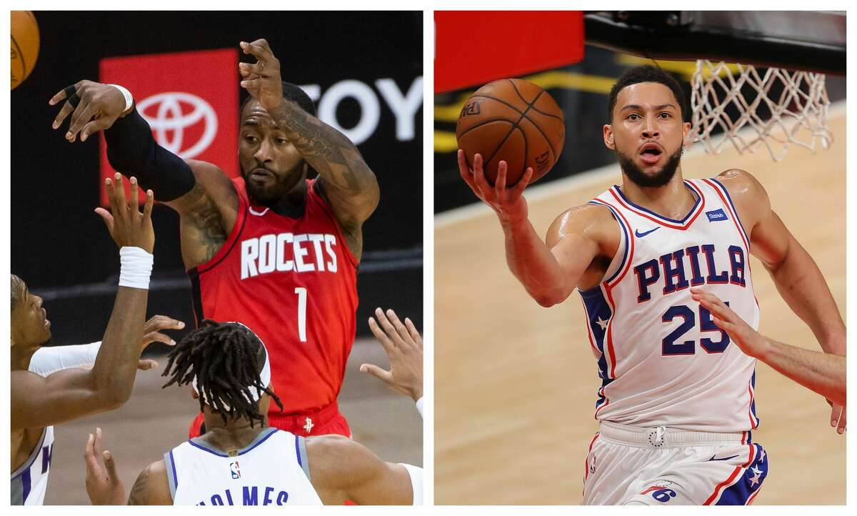 John Wall doesn't fit in the Rockets' future plans, but a trade for Ben Simmons probably wouldn't work either.