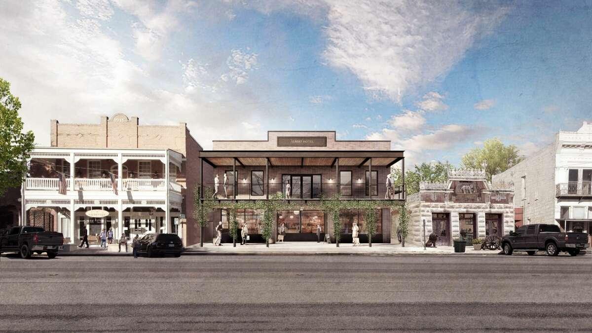 The new Albert Hotel will open on Main Street next summer.