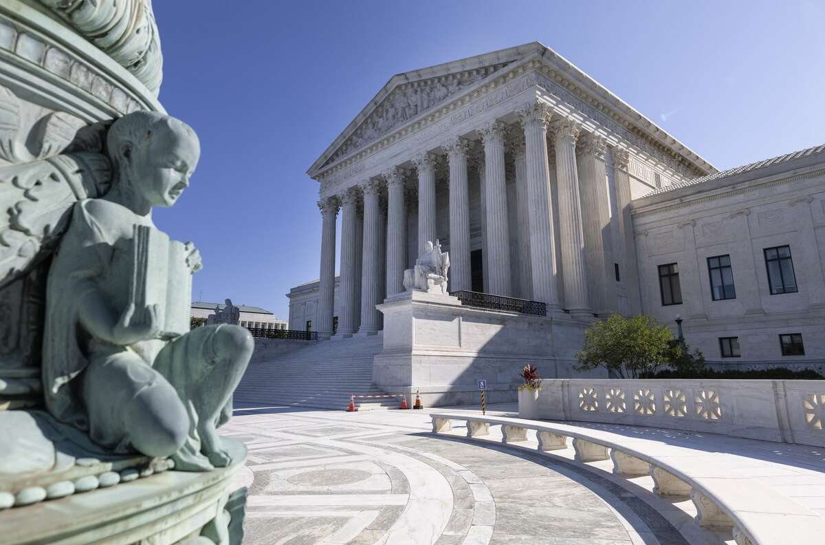 The U.S. Supreme Court is seen on September 02, 2021 in Washington, DC. The Supreme Court voted 5-4 not to stop a Texas law that prohibits most abortions after six weeks of pregnancy.