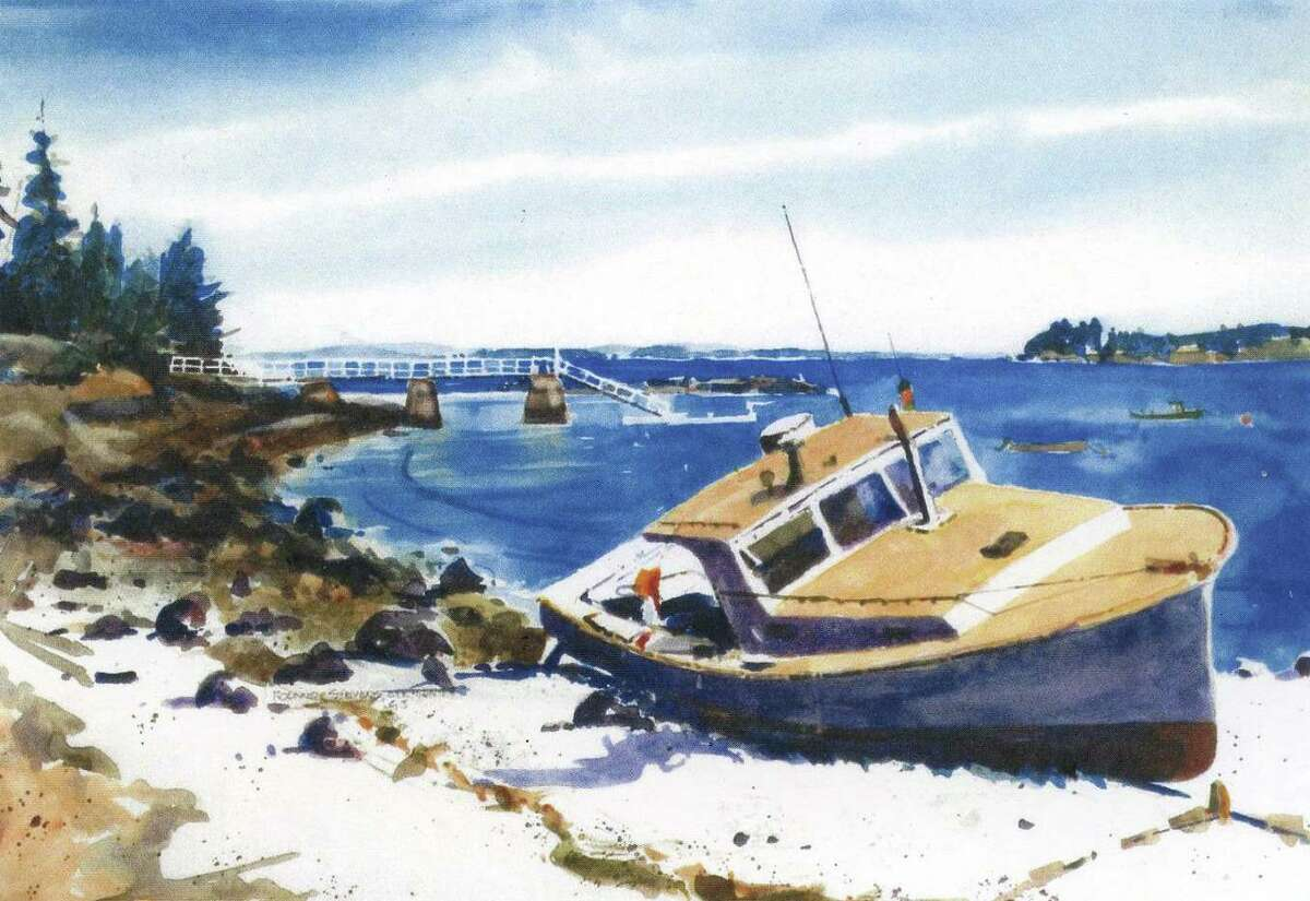 """""""American Waters,"""" was part of a past exhibit held at the Lyme Art Association."""