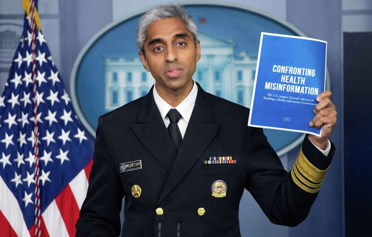 U.S. Surgeon General Dr. Vivek H. Murthy speaks about deadly misinformation in July. Would more people be vaccinated with better media literacy? The answer, undoubtedly, is yes.