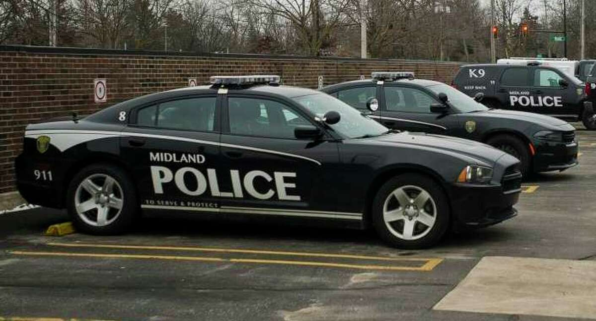 Midland police car