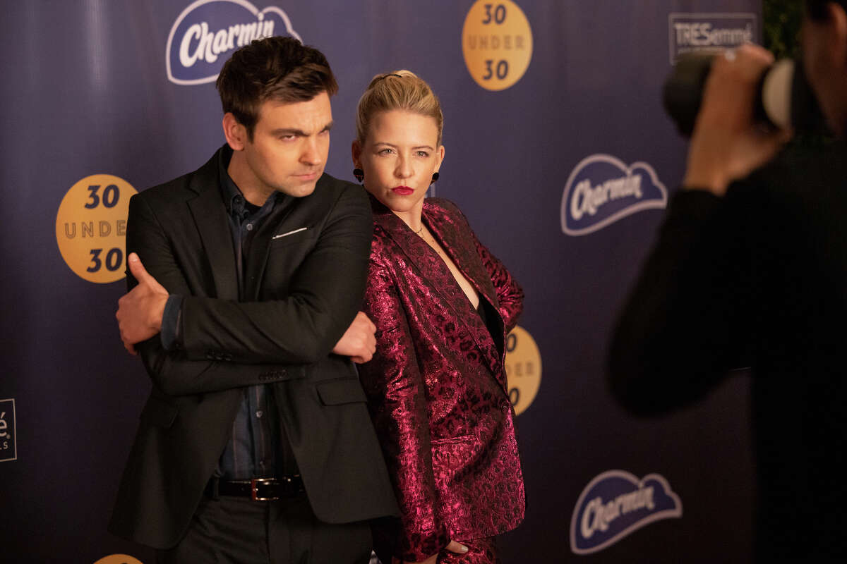 """Helene Yorke and Drew Tarver play siblings Brooke and Cary in """"The two others."""""""