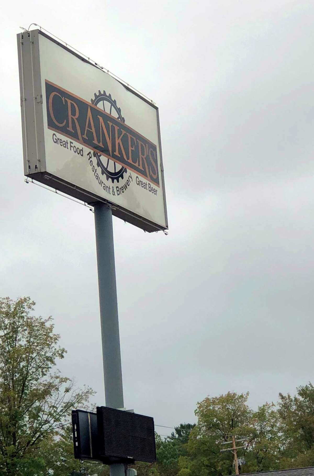 Located on S. State St., in Big Rapids, Cranker's Brewery offers visitors a number of delicious dishes. (Pioneer photo/Joe Judd)