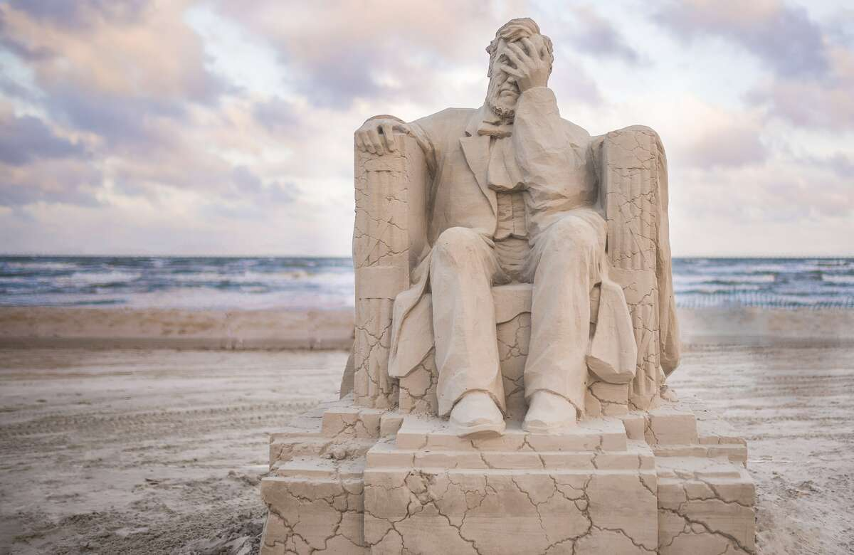 The Texas SandFest returns to Port Aransas after it canceled its 2020 event due to the coronavirus pandemic.