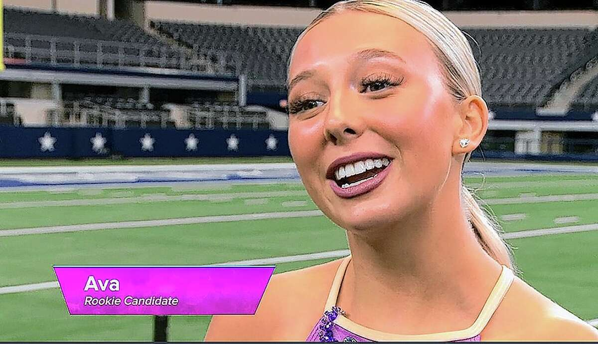 COMPETITION STARTS: Ava Lahey, a 2020 Jacksonville High School graduate and former J'ettes team member, was selected from thousands of applicants to take part in a challenge that could lead to one of 36 spots on the coveted Dallas Cowboys cheerleading squad. Going into week two of the training camp, she will be concentrating on showing she can tackle the signature kick line, which raised concerns of judge in last week's show after stellar solo performance.