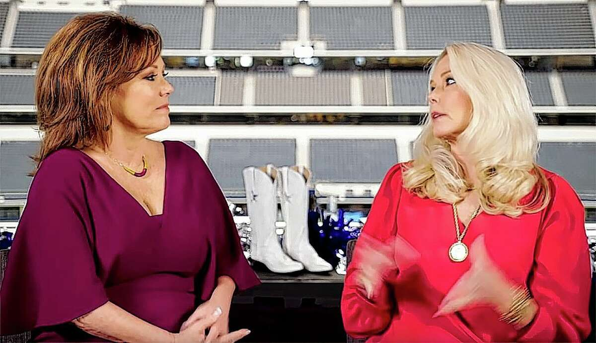 """THE JUDGES: Kelli McGonagill Finglass, director of Dallas Cowboy Cheerleaders, said Ava's solo on the judge's round, """"for me was almost a religious experience. It was so full of musicality. She illustrated the song she chose beautifully. She had me sold."""" Both she and choreographer Judy Trammell - who said Ava's technical ability """"was far off the charts"""" - were concerned about her field presentation and discussed with Ava the need to stay fed and hydrated, saying they worried about her being able to handle the grueling nature of a three-hour weekly performance."""