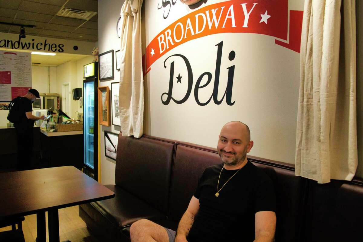 Daniel Chessare, owner of Saratoga's Broadway Deli, at his restaurant on Thursday, Sept. 23, 2021, in Saratoga Springs, N.Y.