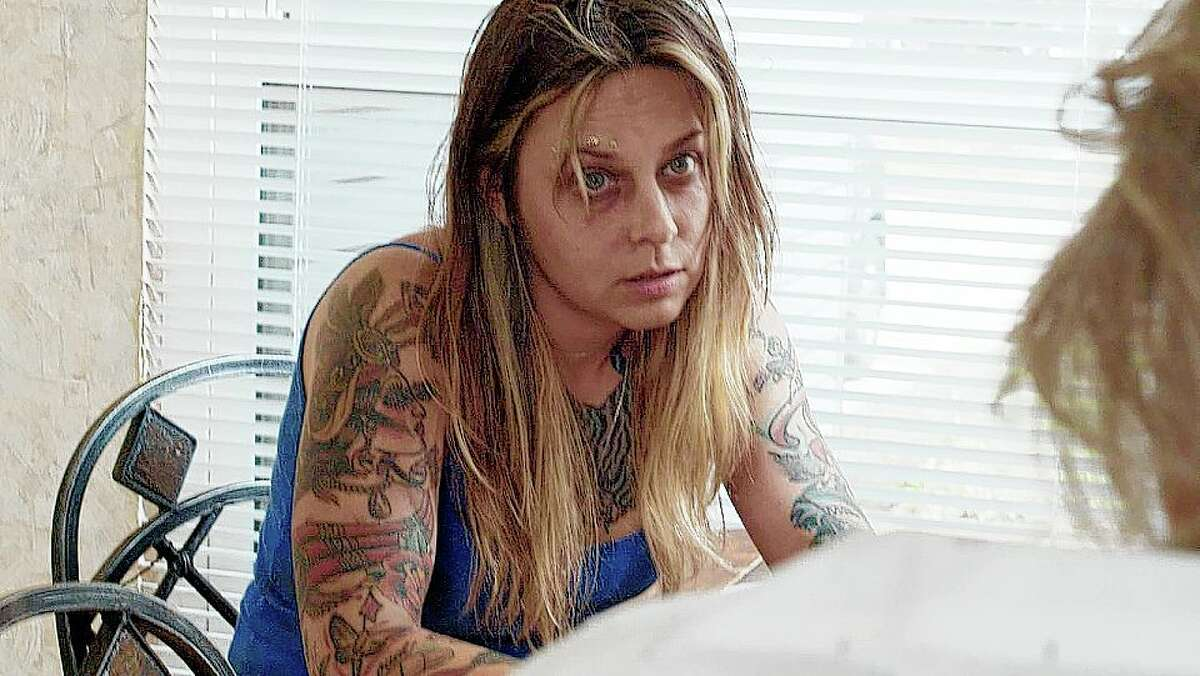 Ashley Pryor plays Schmetterling, a heroin addict who witnesses a murder. The film of the same name includes scenes from Jerseyville.