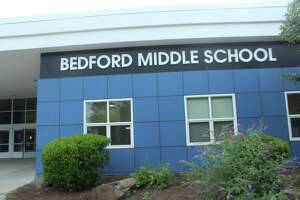 A new school year has started at Bedford Middle School. Taken Aug. 27, 2019 in Westport, CT.