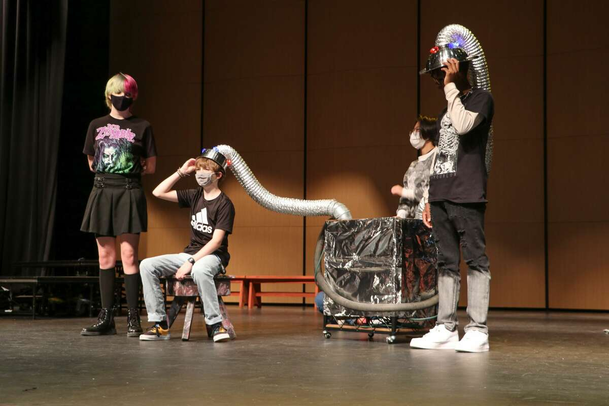 """Pearland High School's """"Aliens VS Cheerleaders"""" production, based on the book by Qui Nguyen, is onstage at 7 p.m. Sept. 30 through Oct. 2 at the PHS auditorium, 3775 South Main, Pearland. General admission tickets are $12 for adults and $7 for students and staff and may be purchased at pearlandisd.org/Page/184."""